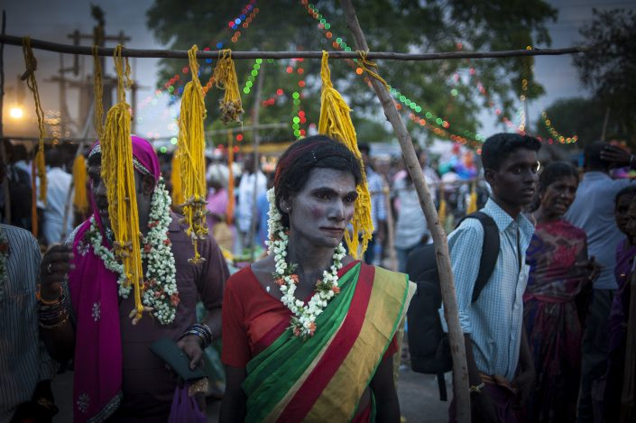 Aravan's wedding at Koovagam, India