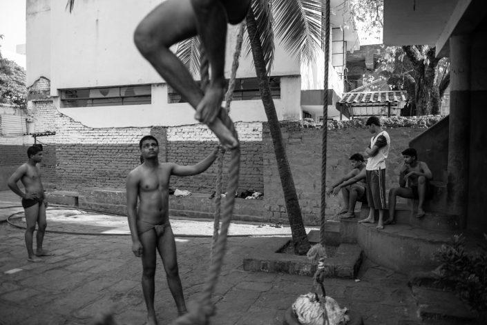 Kushti in India - documentary photography