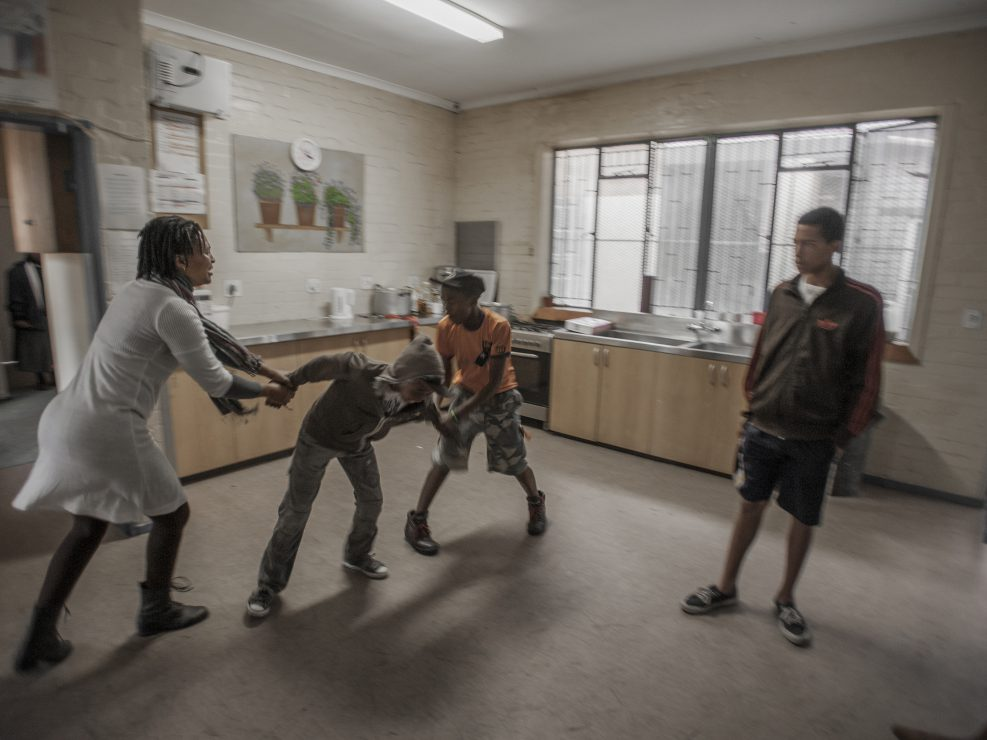 Street children in Cape Town - documentary photography