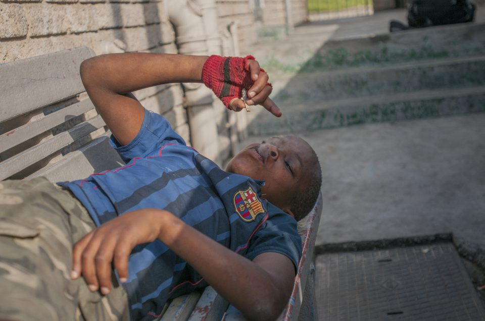 Cape Town street kids