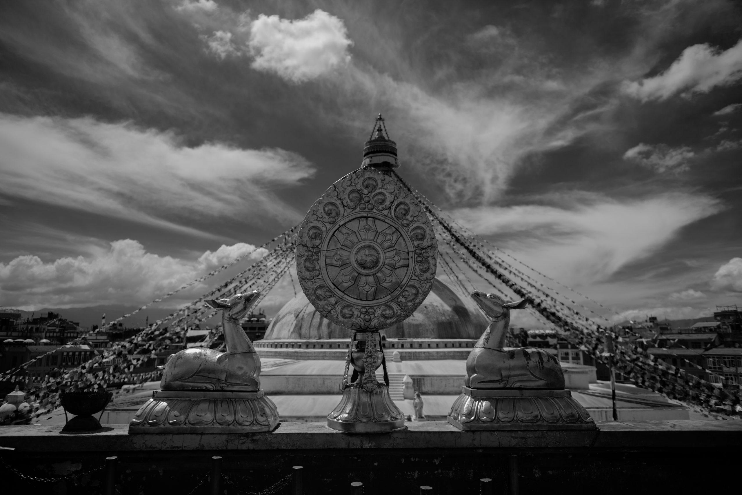 Budnath Stupa, Kathmandu, Nepal