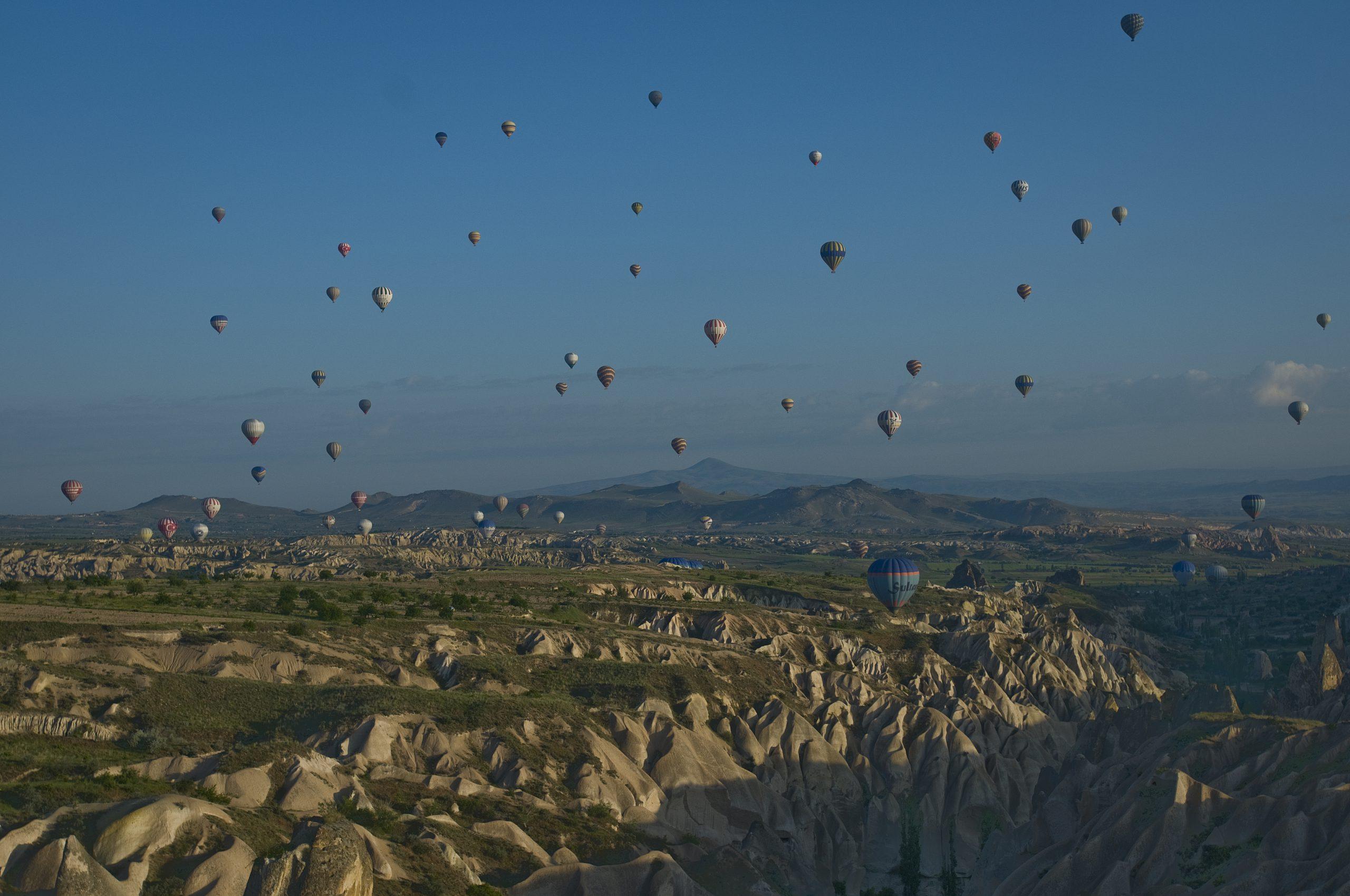 Cappadocia balloons - Turkey