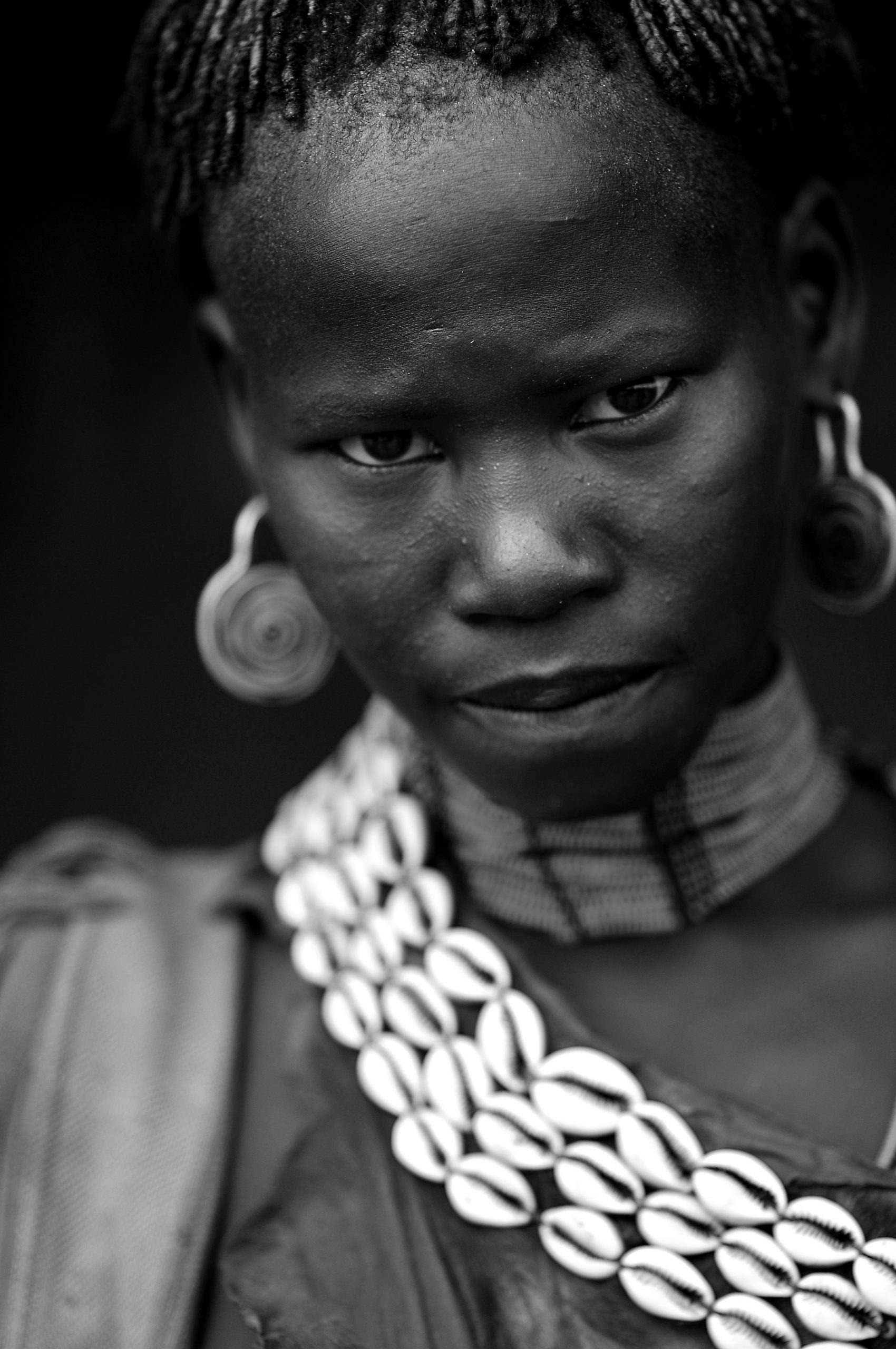 Members of the Arbore tribe in the Omo region, Ethiopia
